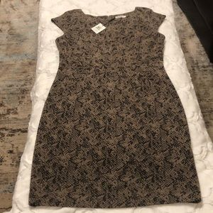 Calvin Klein dress silhouette fit